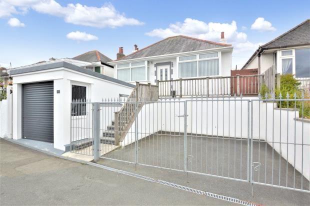 Thumbnail Detached bungalow for sale in Callington Road, Saltash, Cornwall