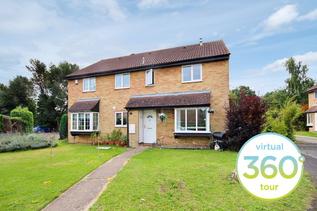 Thumbnail End terrace house to rent in The Sycamores, Milton, Cambridge