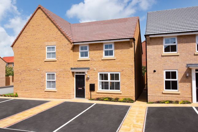 "Thumbnail Semi-detached house for sale in ""Archford"" at Hurst Lane, Auckley, Doncaster"