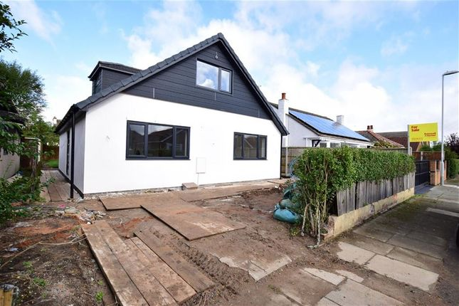 Thumbnail Detached bungalow for sale in Burden Road, Wirral, Merseyside