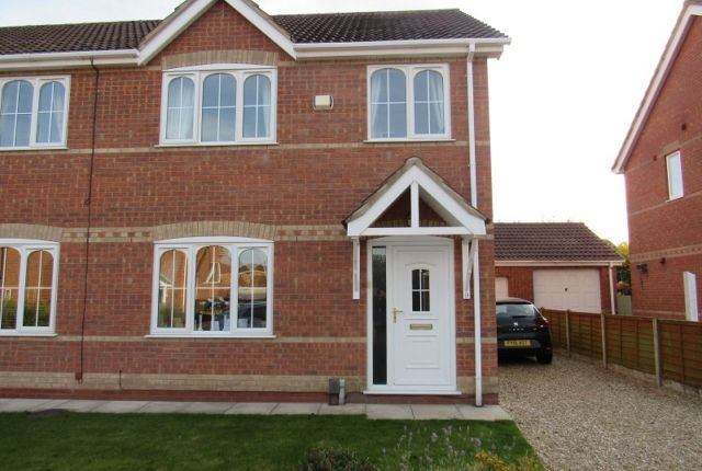 Thumbnail Semi-detached house to rent in Garrick Lane, New Waltham, Grimsby