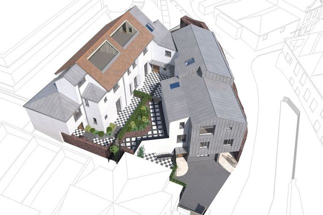 Thumbnail Semi-detached house for sale in Bedford Street, Princesshay Square, Exeter