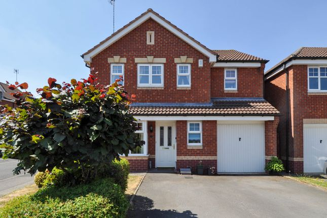 Thumbnail Detached house for sale in Jackfield Close, Redditch