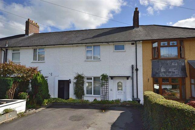 Thumbnail Terraced house for sale in 12, Coed Y Ffridd, Barn Lane, Newtown, Powys