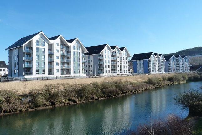 Thumbnail Flat to rent in Britannia Apartments, Phoebe Road, Copper Quarter, Swansea