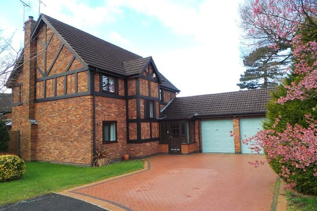 Thumbnail Detached house for sale in Sopwith Close, Yarnfield, Stone