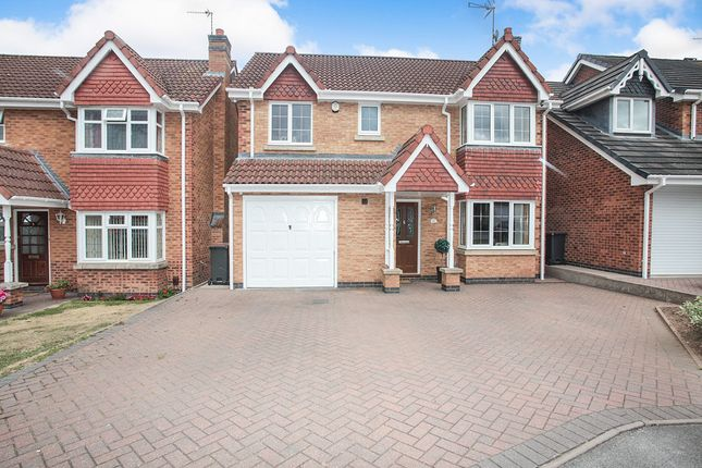 Thumbnail Detached house for sale in Juniper Close, Bedworth