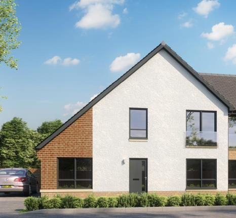 Thumbnail End terrace house for sale in Newfield Square, Glasgow, Lanarkshire