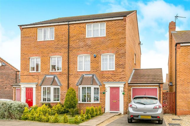 Thumbnail Semi-detached house for sale in Nash Close, Corby
