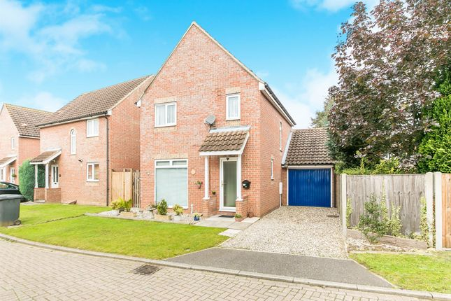 Thumbnail Detached house for sale in Lynns Hall Close, Great Waldingfield, Sudbury