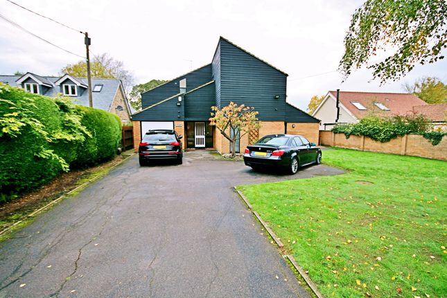 Thumbnail Detached house to rent in Dry Drayton Road, Madingley, Cambridge