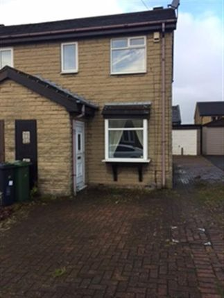 Thumbnail Semi-detached house to rent in Morlands Close, Staincliffe, Dewsbury