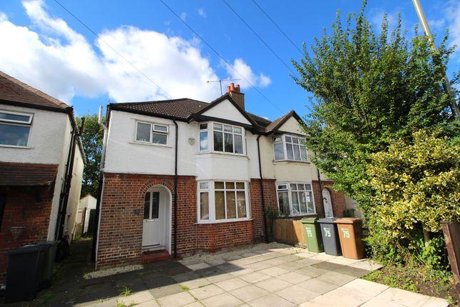 Thumbnail Semi-detached house to rent in Aldershot Road, Guildford