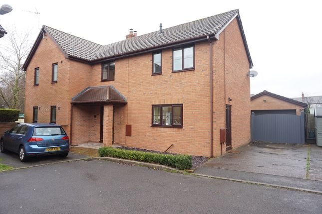 Thumbnail Detached house for sale in Cwrt Hendre, Fairview, Blackwood