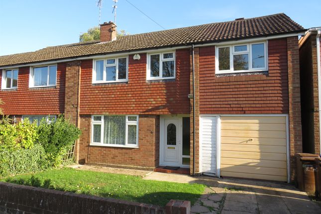 Thumbnail Semi-detached house for sale in Bradden Close, Kingsthorpe, Northampton