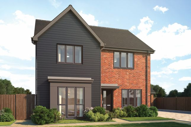 """Thumbnail Detached house for sale in """"Nenhurst"""" at Old Wokingham Road, Crowthorne"""