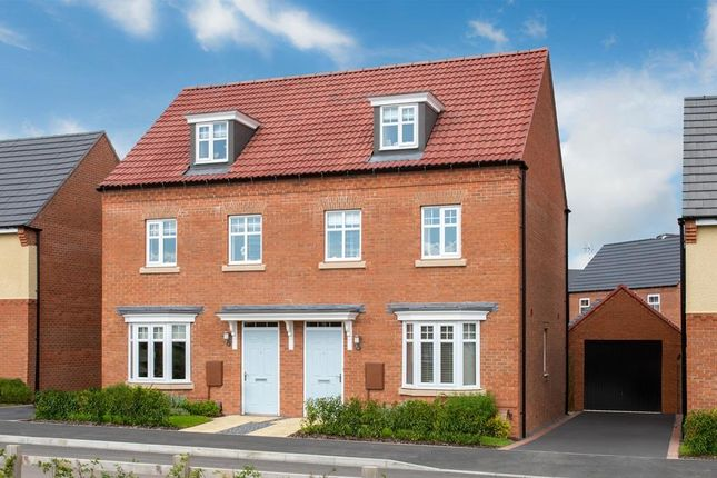 "Thumbnail End terrace house for sale in ""Kennett"" at Kingston Way, Market Harborough"