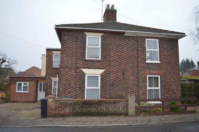 Thumbnail Semi-detached house for sale in Tennyson Road, King's Lynn