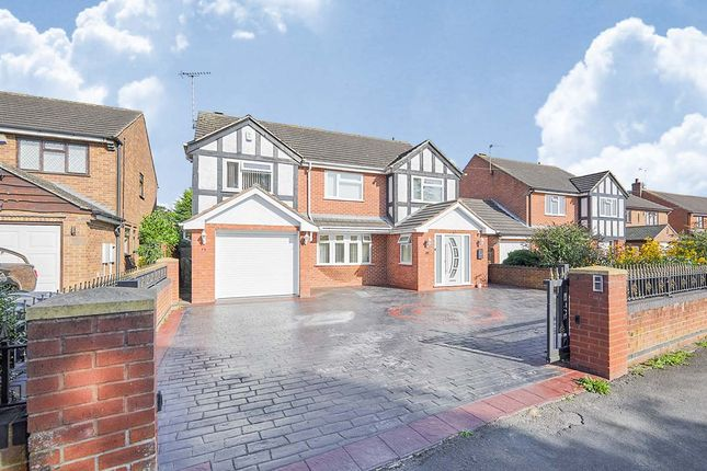 Thumbnail Detached house for sale in Redhill Lane, Tutbury, Burton-On-Trent, Staffordshire