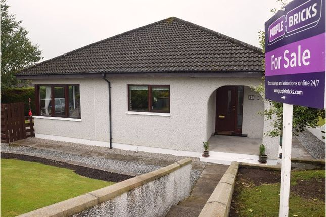 Thumbnail Detached bungalow for sale in Darroch Drive, Alness