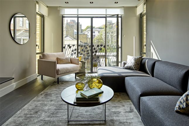 Living Space of Young Street, London W8