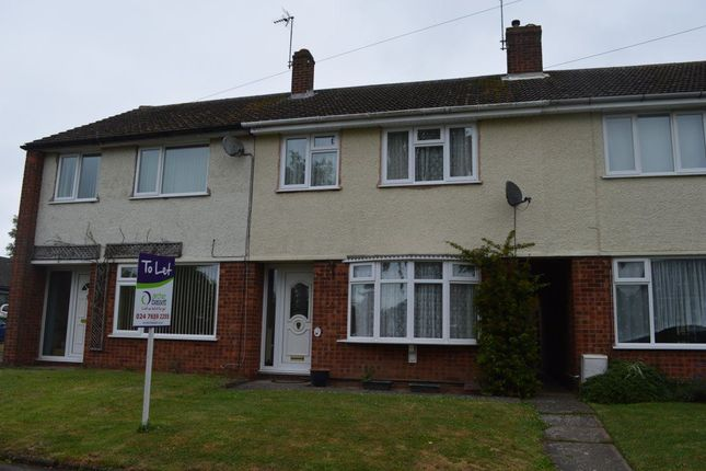Thumbnail Terraced house to rent in Croft Close, Stretton-On-Dunsmore, Rugby