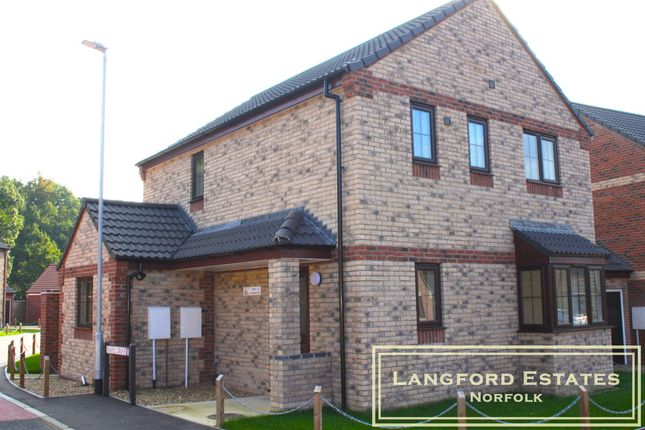 Thumbnail Detached house for sale in Oaks Drive, Necton, Brand New