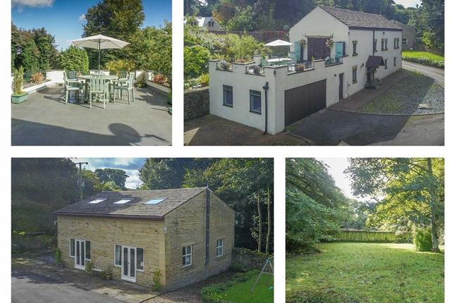 Thumbnail Country house for sale in Woodfield Road, Cullingworth, West Yorkshire
