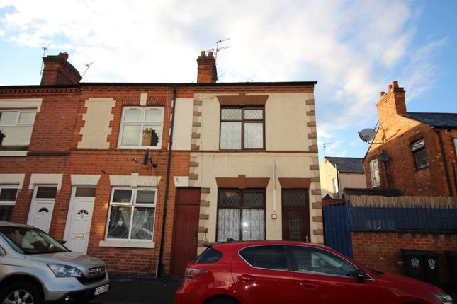Thumbnail End terrace house for sale in Marshall Street, Leicester