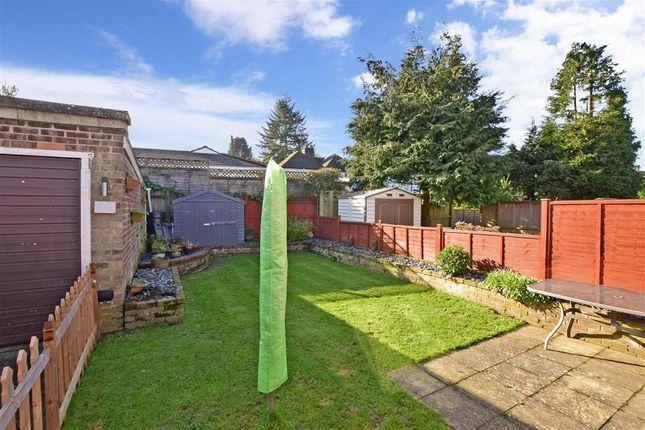 Rear Garden of Knatchbull Way, Brabourne Lees, Ashford, Kent TN25