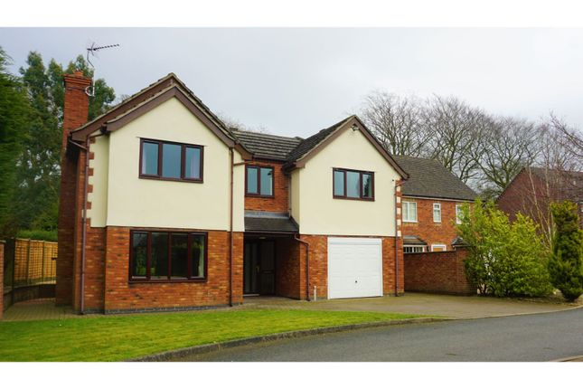 Thumbnail Detached house for sale in Bettys Lane, Woore
