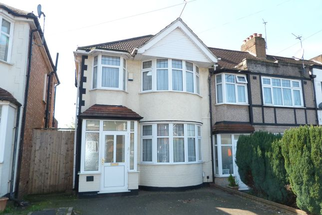 Thumbnail End terrace house for sale in Carr Road, Northolt