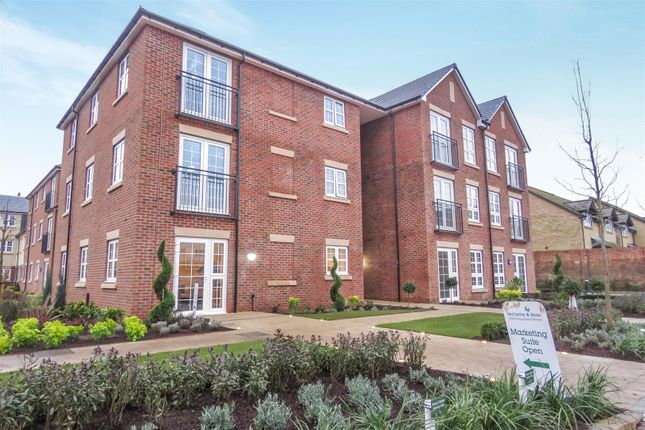 Thumbnail Flat for sale in The Juniper, Parkland Place, Shortmead Street, Biggleswade