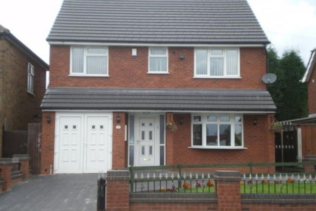 Thumbnail Detached house to rent in Green Lane, Shelfield, Walsall