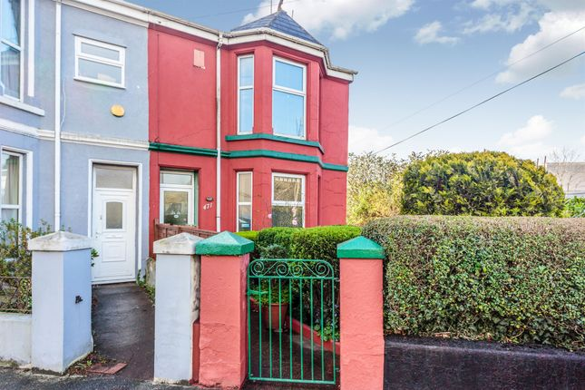 Thumbnail End terrace house for sale in Wolseley Road, Plymouth