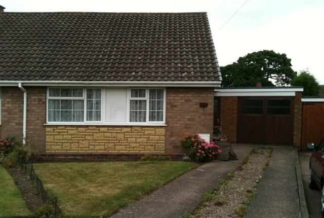 Thumbnail Bungalow to rent in Dewsbury Drive, Burntwood