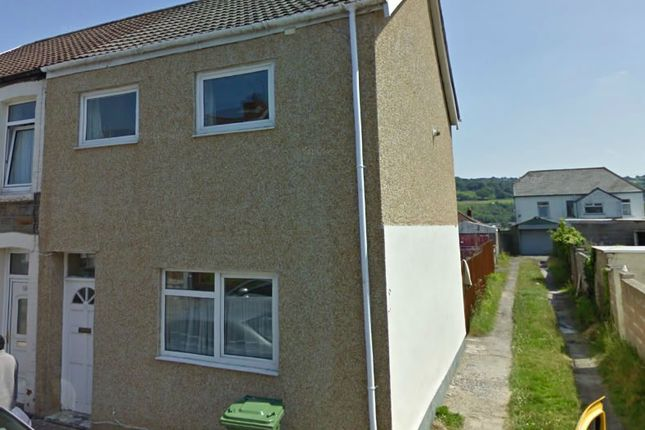 Thumbnail End terrace house to rent in Queen Street, Treforest, Pontypridd