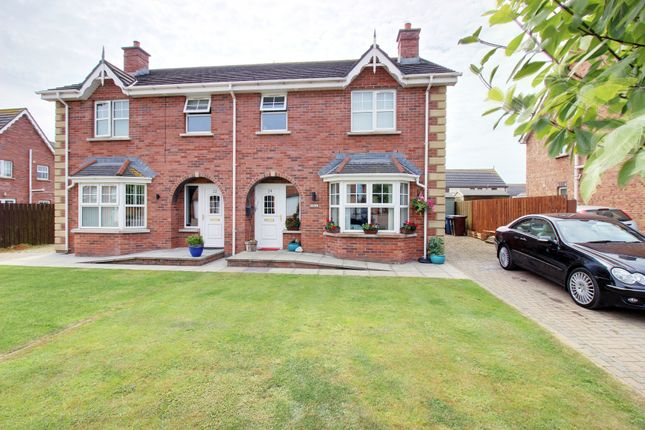 Thumbnail Semi-detached house for sale in St Andrews Avenue, Ballyhalbert