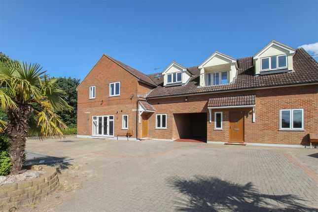 Thumbnail Flat for sale in Blackmore Road, Hook End, Brentwood