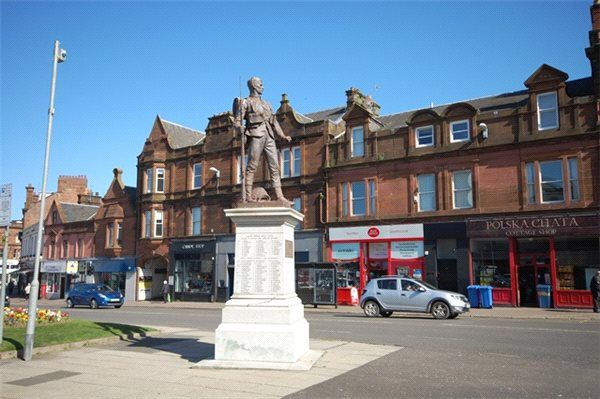 Thumbnail Flat to rent in 45A Burns Statue Square, Ayr, South Ayrshire