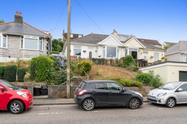 Thumbnail Semi-detached bungalow for sale in New Road, Saltash, Cornwall