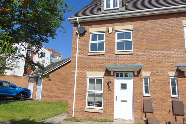 Thumbnail Semi-detached house to rent in Brooklime Avenue, Stockton