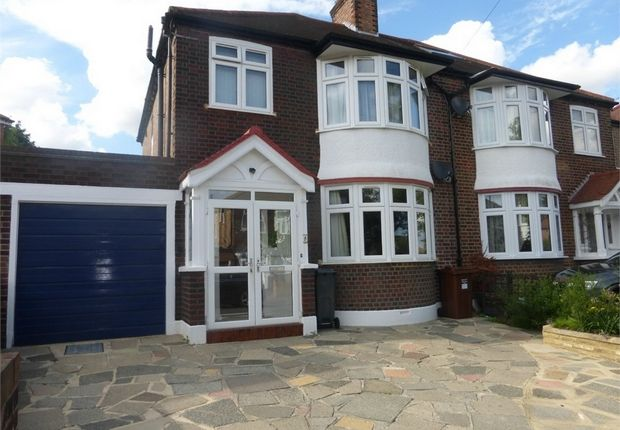 Thumbnail Semi-detached house for sale in Downs View, Isleworth, Middlesex