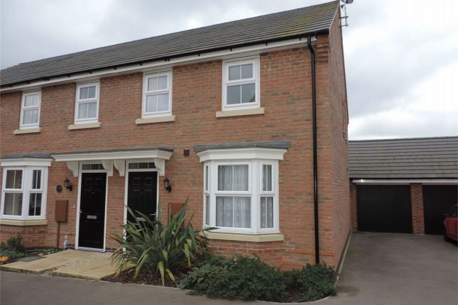 Thumbnail Semi-detached house to rent in Warwick Close, Bourne, Lincolnshire