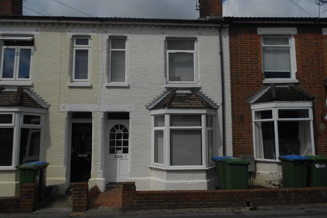 Thumbnail Terraced house to rent in Burton Road, Polygon, Southampton