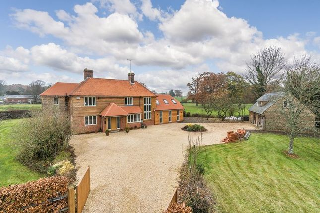 Thumbnail Detached house for sale in East Tytherley Road, Lockerley, Romsey