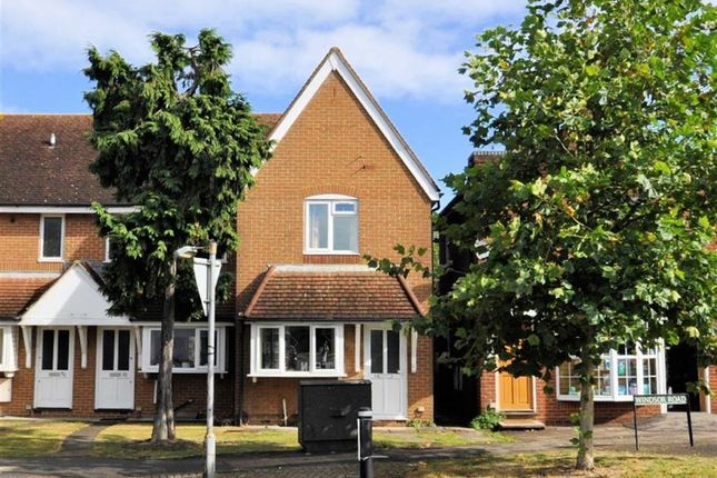 Thumbnail End terrace house for sale in Windsor Road, Wraysbury, Berkshire