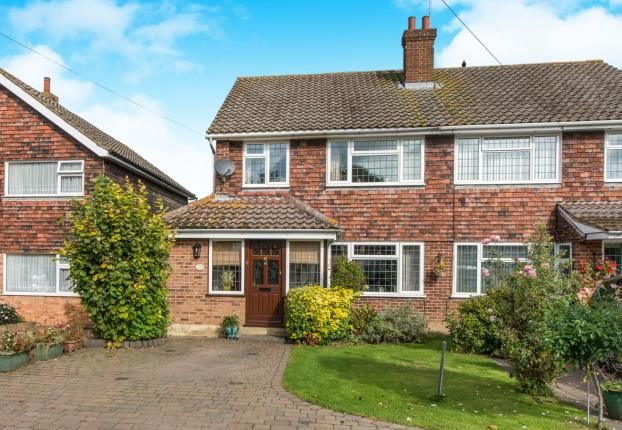 Thumbnail Semi-detached house for sale in Istead Rise, Gravesend, Kent
