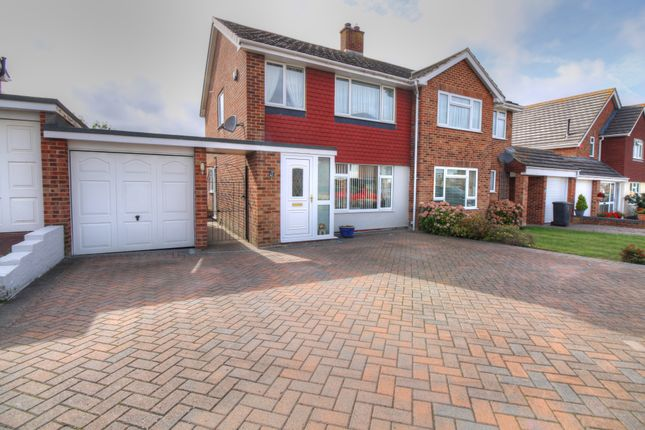 Thumbnail Semi-detached house for sale in Seven Sisters Road, Willingdon, Eastbourne