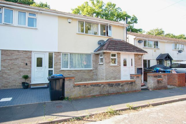 Thumbnail End terrace house for sale in Mortimer Close, Hartley Wintney, Hook